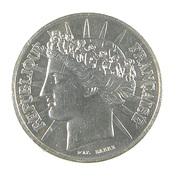 100 Francs - Cérès  - France - 1988 - Argent - TTB - - N. 100 Franchi