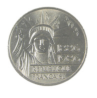 100 Francs - Liberté  - France - 1986 - Argent - TTB - - N. 100 Franchi
