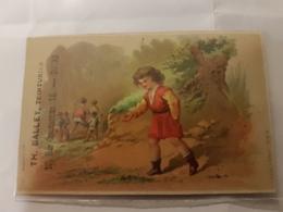CALENDRIER 1877 TEINTURERIE DU PROGRES TOURS - Calendriers