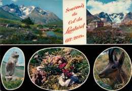 Dep 05 , Cpm Souvenir Du Col Du LAUTARET , Alt. 2058m. , Multivues - Francia