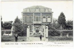DOISCHE ( Front. Belge ) - Vue Du Château De M. Le Notaire - Doische