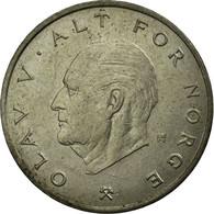 Monnaie, Norvège, Olav V, Krone, 1974, TB+, Copper-nickel, KM:419 - Norvège