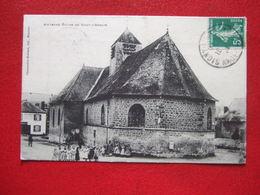 """08 - SIGNY L' ABBAYE -  """" ANCIENNE EGLISE DE..."""" -//// JAMAIS VUE SUR DELCAMPE AVEC CETTE LEGENDE ...////   A VOIR... - France"""