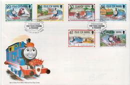 Isle Of Man Set On FDC - Fairy Tales, Popular Stories & Legends