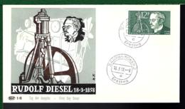 SAAR LAND 1958 - RUDOLF DIESEL - MOTEUR - MOTOR - Usines & Industries