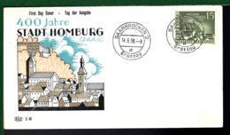SAAR LAND 1958 - SAARBRÜCKEN - HOMBURG - BRD