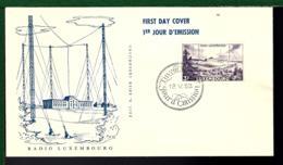 LUXEMBOURG 1953 - THÈME RADIO - - Stamps