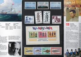 FEROË 1983 Année Complète NEUF** A Saisir  Prix De Départ 1€ - Islas Faeroes