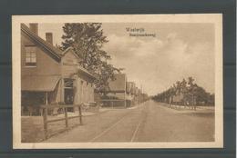 Oude Briefkaart. Waalwijk  Besoyenscheweg - Waalwijk