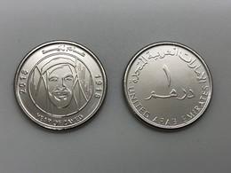 UAE United Arab Emirates 2018 Year Of Zayed Commemorative Circulation Coin - Emirats Arabes Unis