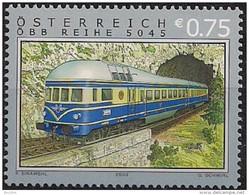 """2003  Austria  Yv. 2257 Mi. 2425 **MNH   Zug Der Baureihe 5045 """"Blauer Blitz"""" - 1945-.... 2. Republik"""