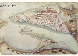 Portugal -5 Postais De Coimbra -Quadros - Cartes Postales