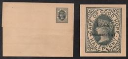 BECHUANALAND - QV / ENTIER POSTAL ANCIEN - BANDE JOURNAL - WRAPPER (ref LE2742) - Bechuanaland (...-1966)