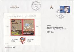 Aéris In Spacio Pro Libertate, Protector Aero N° 51 / An Bundesrat - Airmail