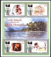 Cook Islands 2000 Yvertn° 1185-88 *** MNH Cote 18 Euro Sport Jeux Olympiques Sydney - Ete 2000: Sydney
