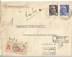 Lettre Avec Timbres France - Autres