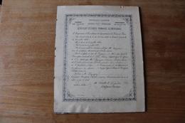 Diplome Scolaire  Seine Et Oise  Isle Adam 1901 - Diplômes & Bulletins Scolaires