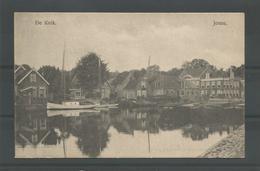 Oude Briefkaart. Joure  De Klok. - Joure