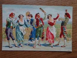 Italy / Dancers --> Unwritten - Danses