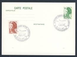 France Rep. Française 1987 Card / Karte / Carte - La Poste Dans Notre Commune, Escaudoeuvres / Post In Unserer Gemeinde - Treinen