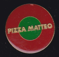 59102. Pin's.Pizza Matteo .Biguglia. - Pin's & Anstecknadeln