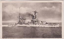 """Bateau   Guerre :  Cuirassé  Amiral """"  Lorraine """" - Guerra"""