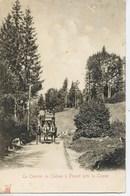 11286 - Hte Savoie - Le COURRIER  DE THONES à FLUMET  Prés LA CLUSAZ       Kunzli - Attelage - Circulée - Thônes