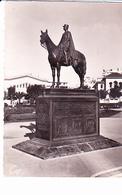 CASABLANCA (Maroc), Statue équestre Du Maréchal Lyautey Par François Cogne, Ed. CAP L.M. 1950 Environ - Casablanca