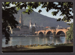 72093/ HEIDELBERG, Blick Auf Brücke Und Altstadt - Heidelberg