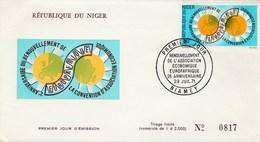 NIGER   THEME EUROPA   EUROPAFRIQUE     2è ANNIVERSAIRE  29/07/1971 - Niger (1960-...)
