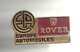 Pin's EA Europe Automobiles Rover  Réf 2667 - Badges