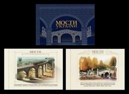 Ukraine 2018 Mih. 1691/92 Europa-Cept. Bridges (booklet) MNH ** - Ukraine