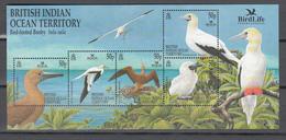 BIOT 2002,5V In Block,birds,vogels,vögel,oiseaux,pajaros,uccelli,aves,MNH/Postfris(L3378) - Zonder Classificatie