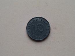 1941 B - 10 Reichspfennig ( KM 101 ) Uncleaned ! - 10 Reichspfennig