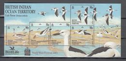 BIOT 2001,5V In Block,birds,vogels,vögel,oiseaux,pajaros,uccelli,aves,MNH/Postfris(L3379) - Zonder Classificatie