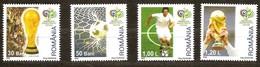 Roumanie Roemenie  2006 Yvertn° 5111-5114 *** MNH  Cote 2,50 Euro - 1948-.... Républiques