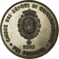 France, Médaille, 150ème Anniversaire De La Caisse Des Dépôts Et - France