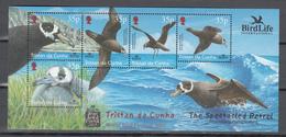 Tristan Da Cunha 2001,4V In Block,birds,vogels,vögel,oiseaux,pajaros,uccelli,aves,MNH/Postfris(L3380) - Zonder Classificatie