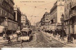 L 097 - Marseille - La Rue Canebière - Canebière, Centro Città
