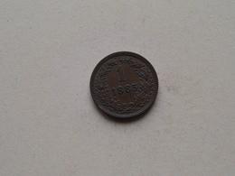 1885 - 1 Kreuzer ( KM 2187 ) Uncleaned ! - Autriche