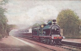 HIGHLAND EXPRESS. FAMOUS EXPRESSES. RAPHAEL TUCK ET FILS. CIRCA 1910. FFCC-BLEUP - Treinen