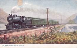 THE TWENTIETH CENTURY, LIMITED. FAMOUS AMERICAN EXPRESES. RAPHAEL TUCK ET FILS. CIRCA 1910. FFCC-BLEUP - Treinen