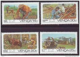 D90819 Venda South Africa 1986 FARMING HORSES MNH Set - Afrique Du Sud Afrika RSA Sudafrika - Venda