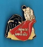 1 PIN'S //  ** ADIEU à NIMEÑO ** - Bullfight - Corrida