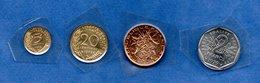 Lot De 4 Monnaies De 1979  -  Scéllées - France