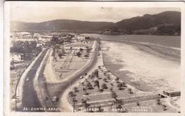 SANTOS. ENTRADA DA BARRA. FOTO POSTAL COLOMBO. CIRCA 1930s BRASIL-BLEUP - Brazilië