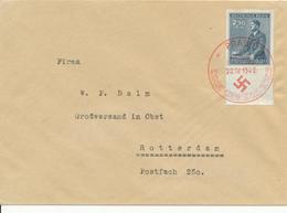 PRAG - 1942 , Brief Nach Rotterdam - Briefe U. Dokumente