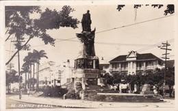 SANTOS. MONUMENTO DOS ANDRADAS. FOTO POSTAL COLOMBO. CIRCA 1930s BRASIL -BLEUP - Brazilië