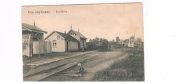 Cul-des-sarts La Gare Avec Tram - Cul-des-Sarts