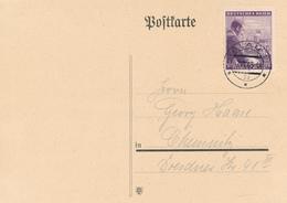IGLAU - 1943 , Karte Nach Chemnitz - Briefe U. Dokumente